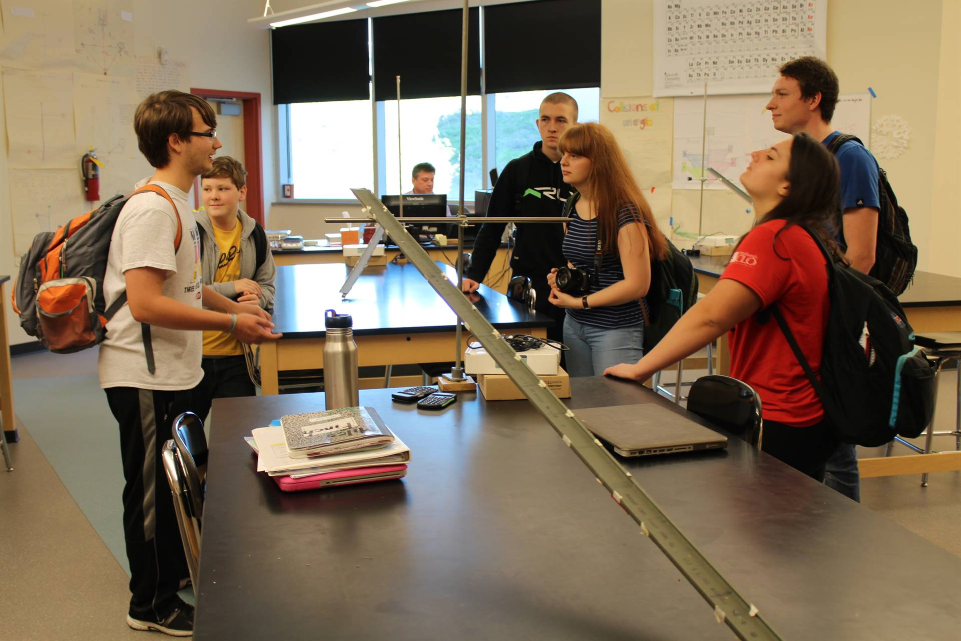 Touring a Science Lab