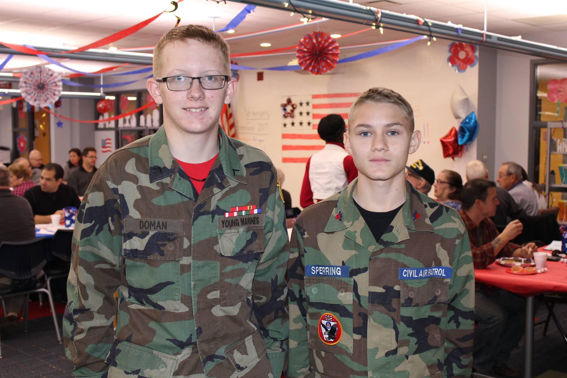 Brock Doman and Elijah Sperling