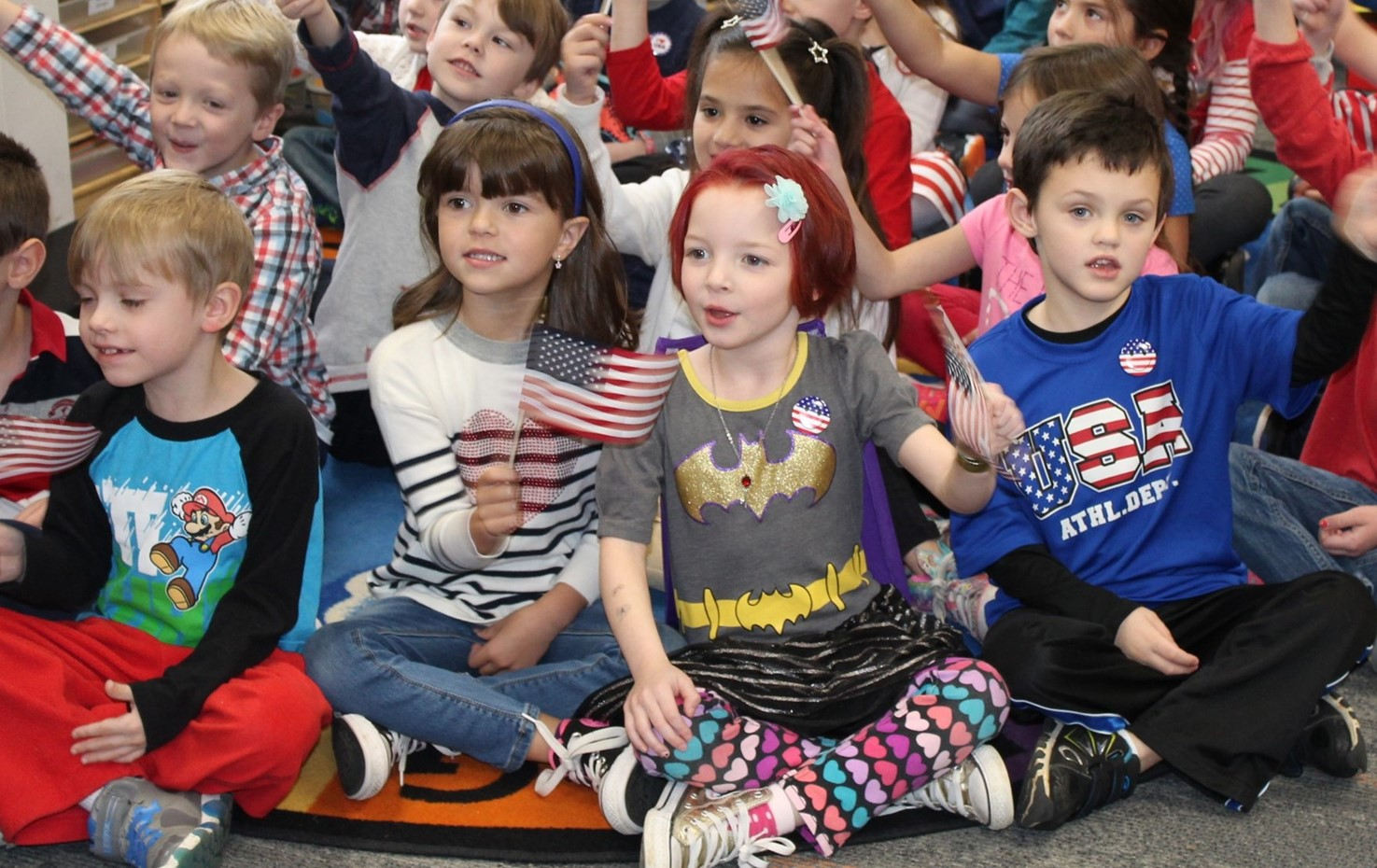 Franklin Kindergarten Students Perform For The Veterans