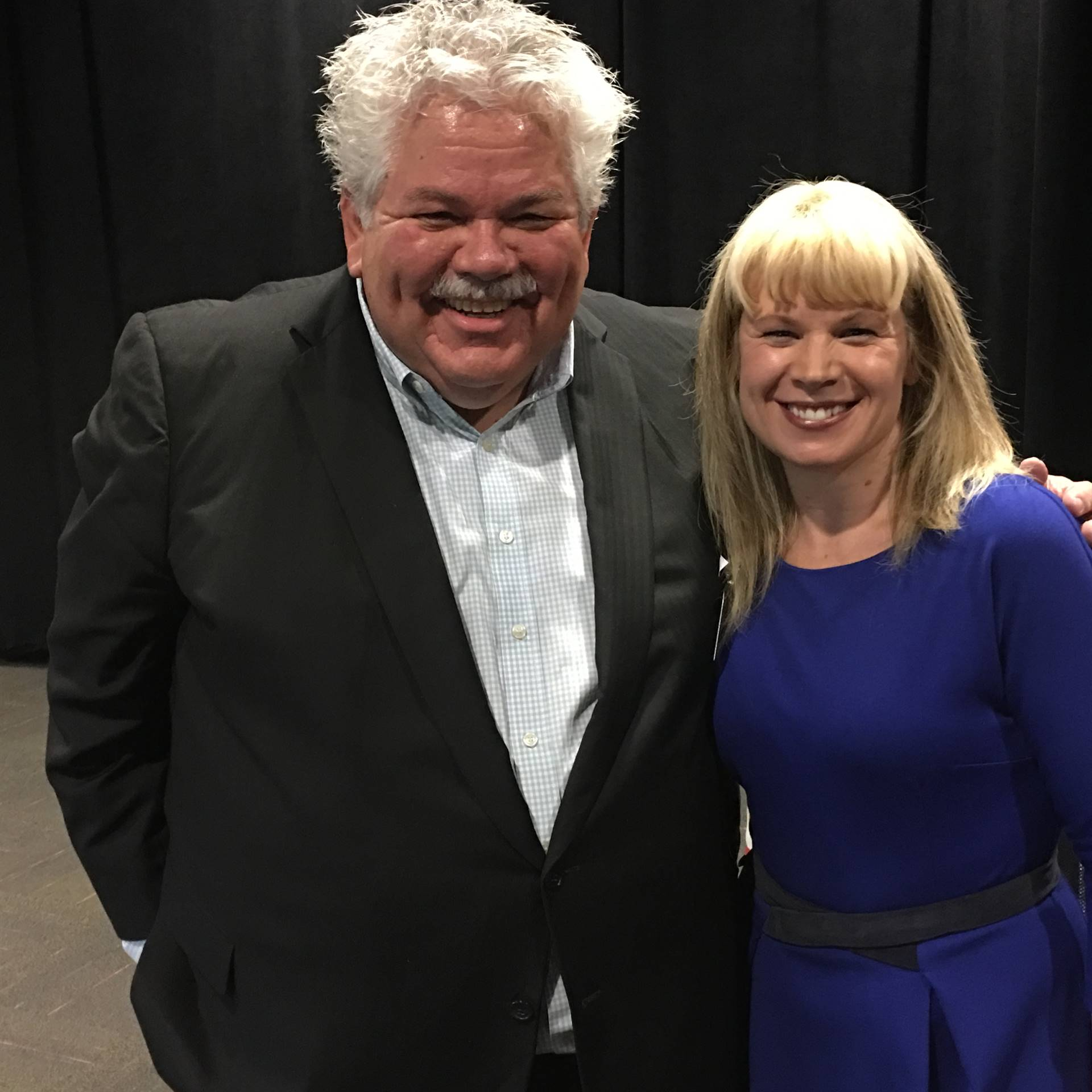 Rick Sebak and Mrs. Williams