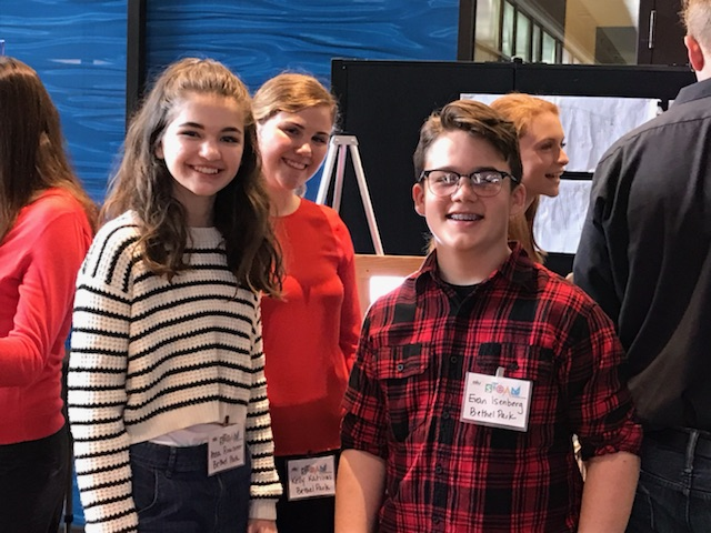 IMS students at the STEAM Showcase