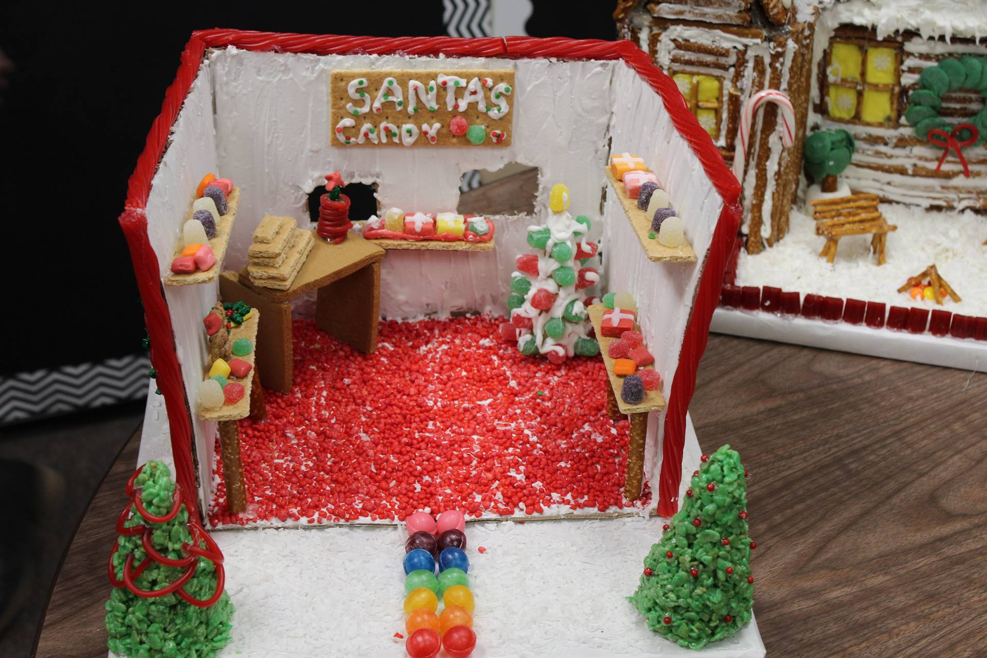 Santa's candy shop