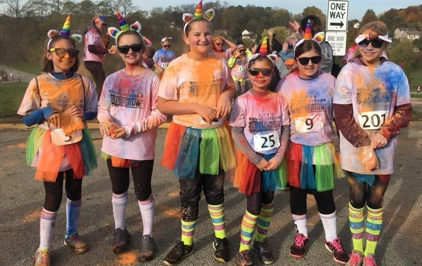 NAMS Students Have Fun At The Color Run