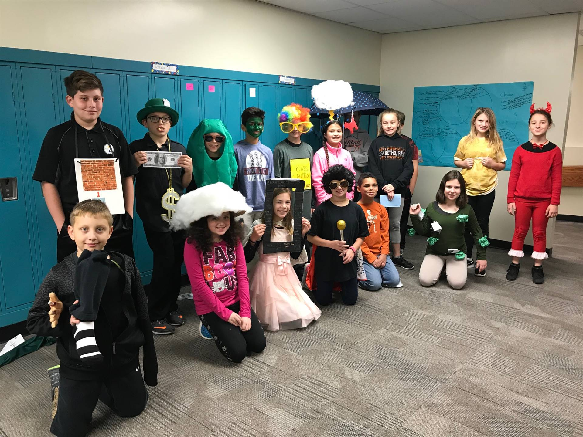 Team Pioneer Idiom Day