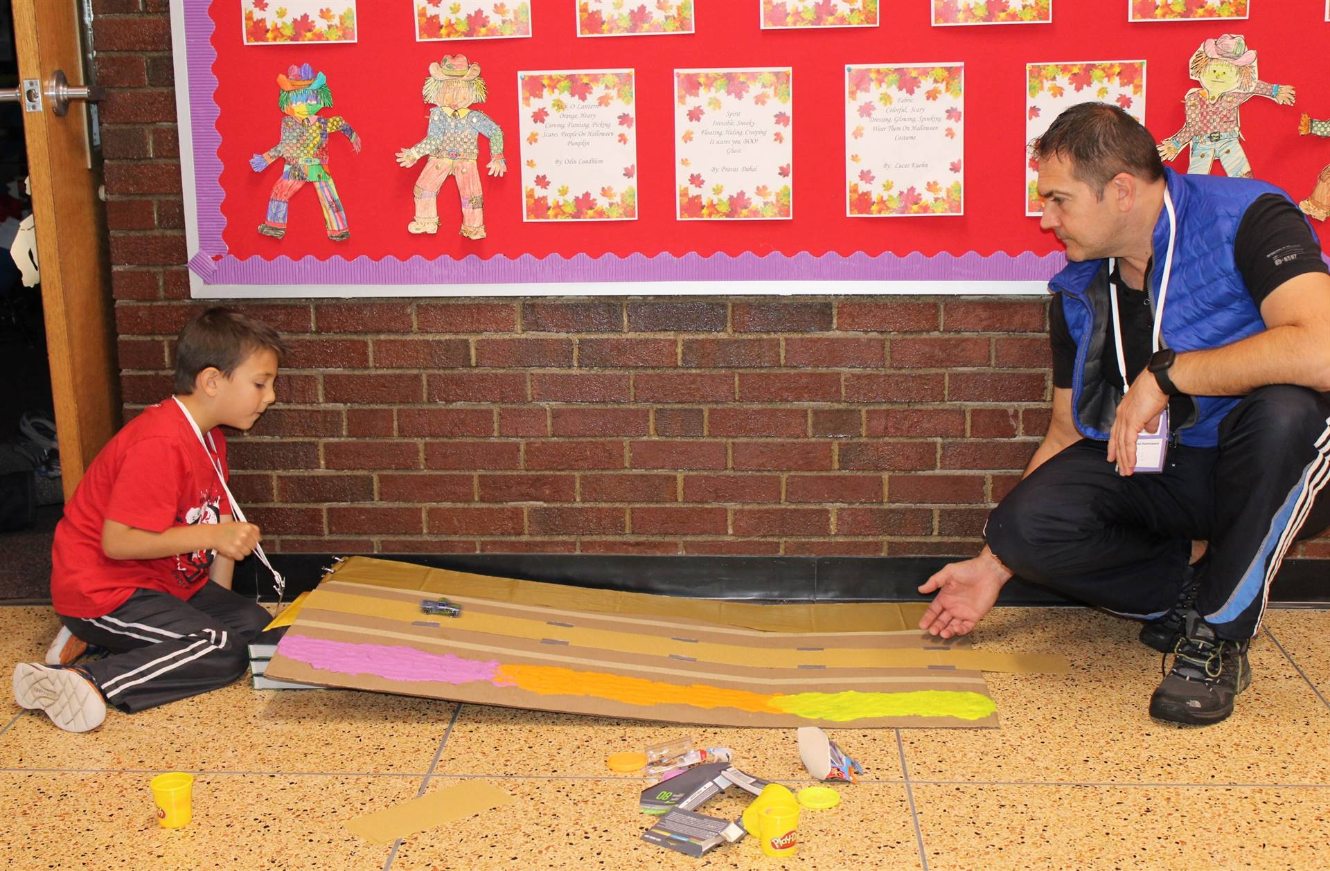 Families have fun at the Family Creative Learning Program