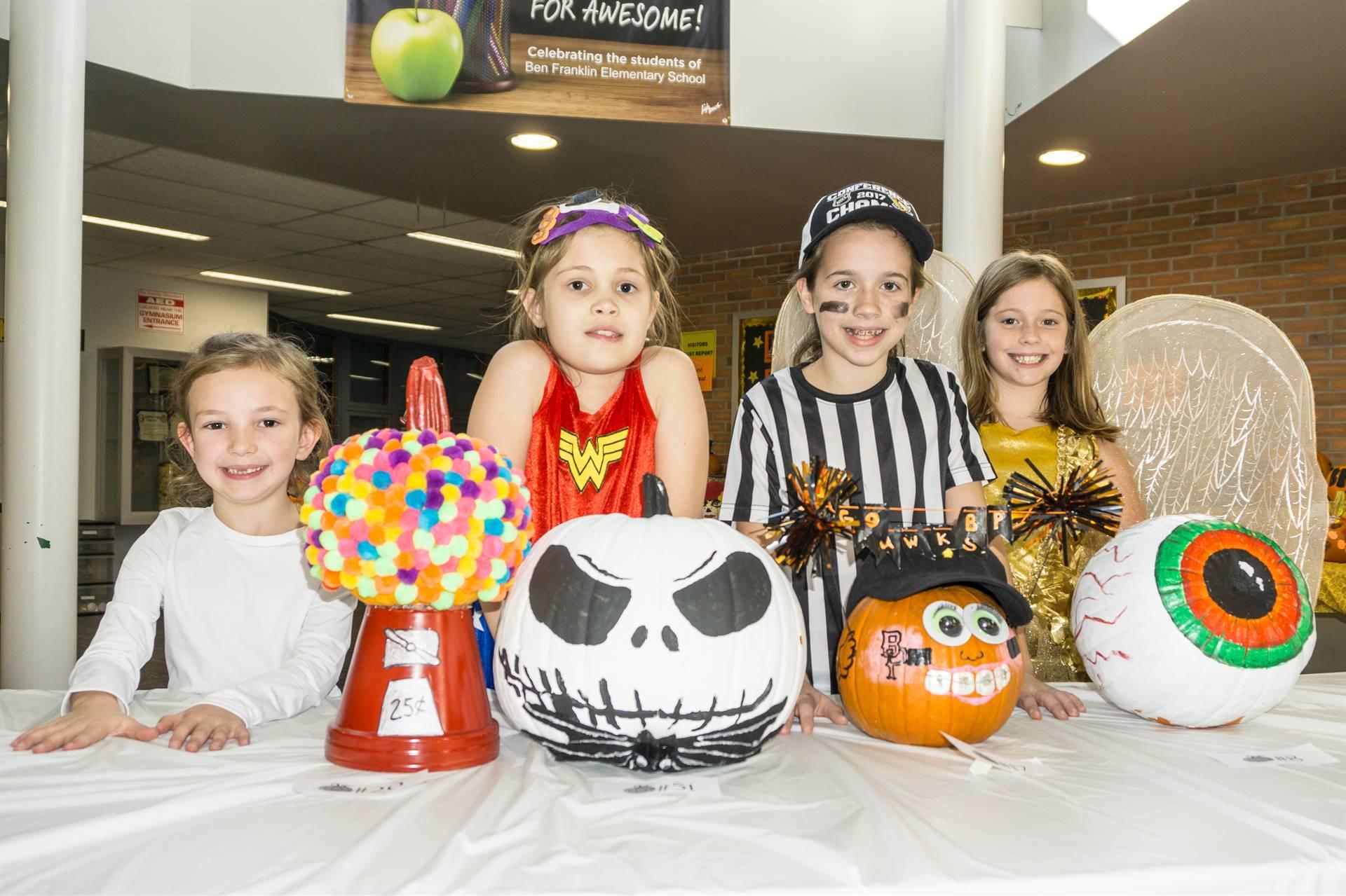 Winners of the Pumpkin Patch