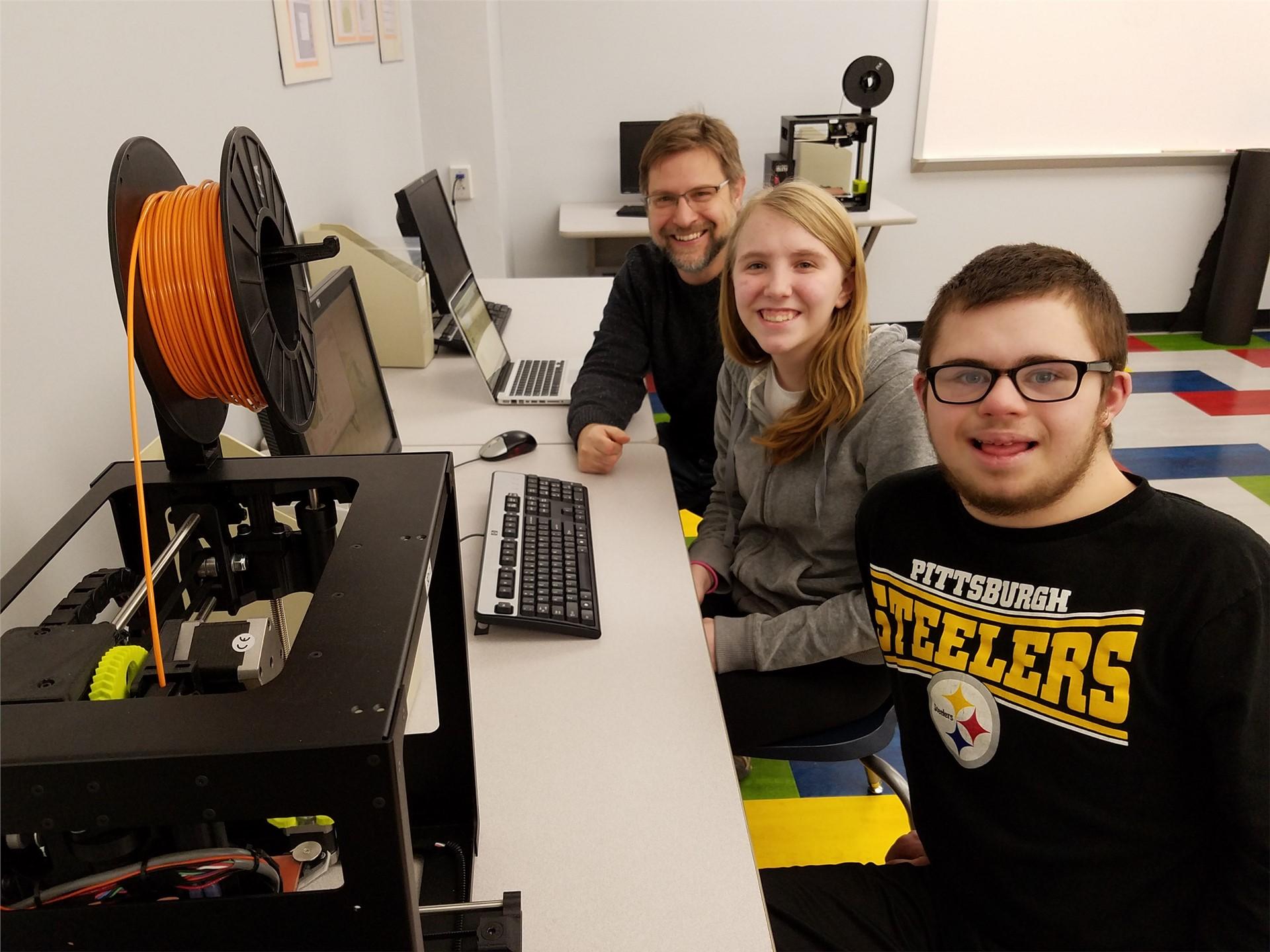 Mr. Staranko's students 3D printing