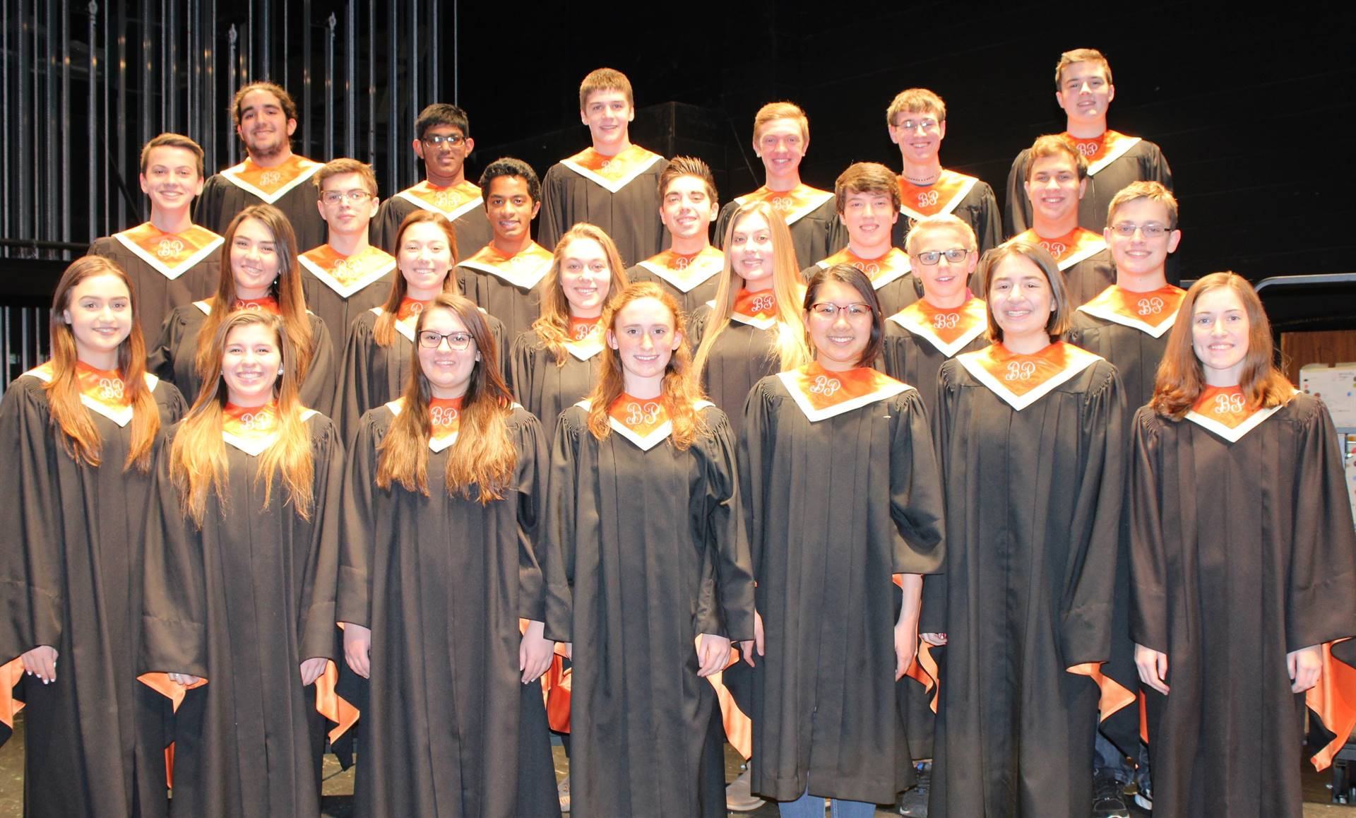 BPHS District Chorus students