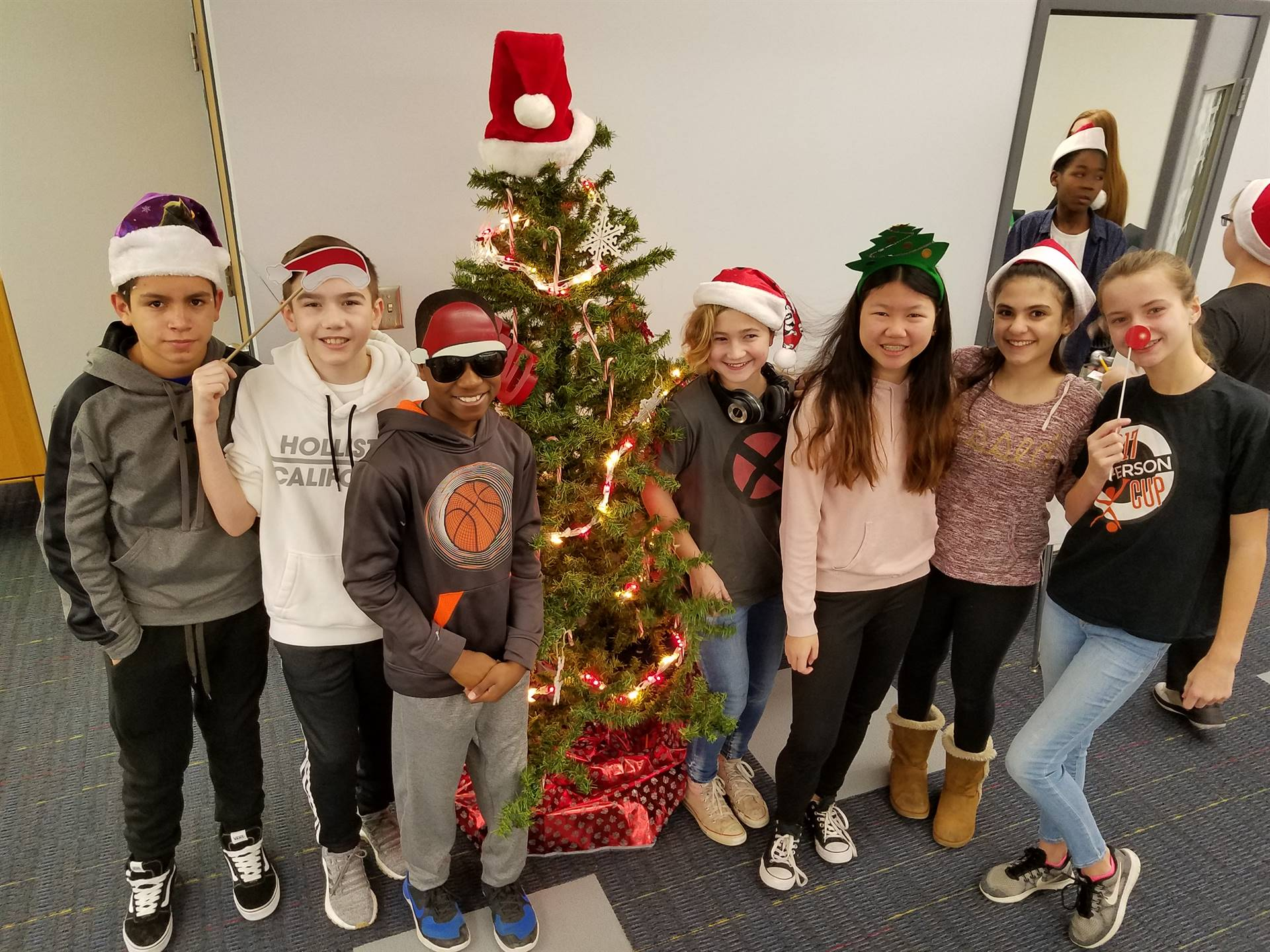 Some of our IndyActs students getting their festive on!