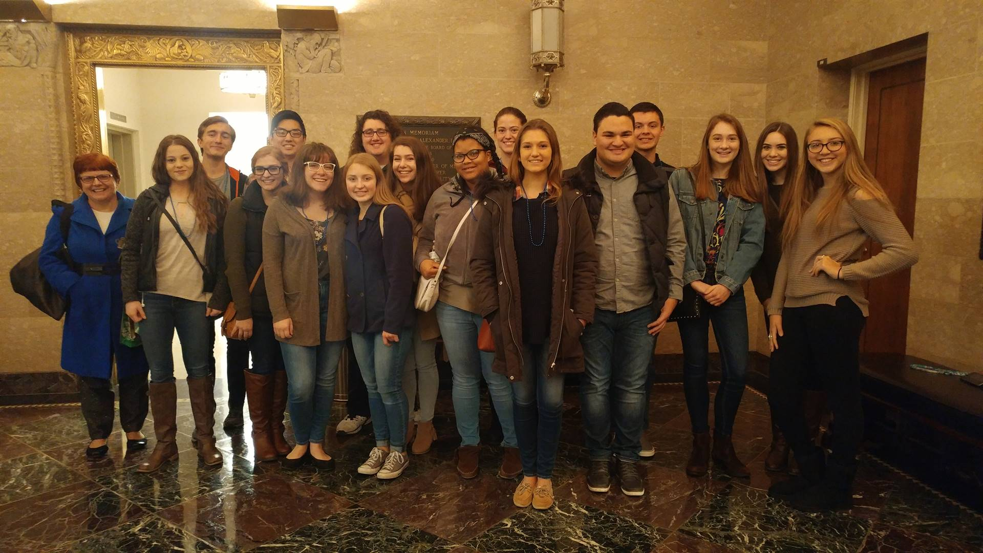 BPHS students who observed open heart surgery