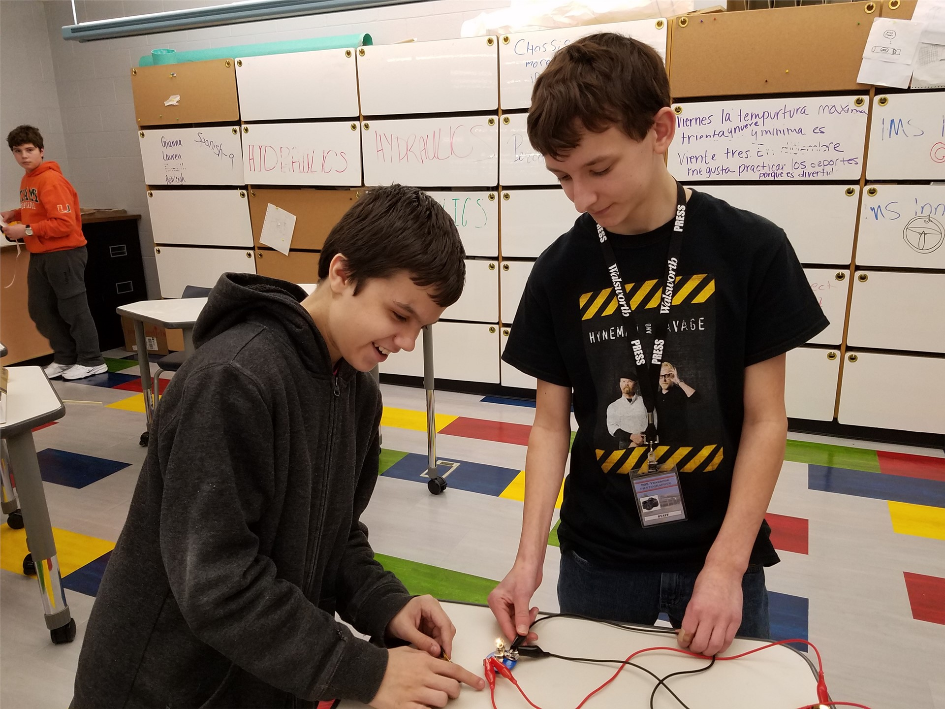 creating with circuitry