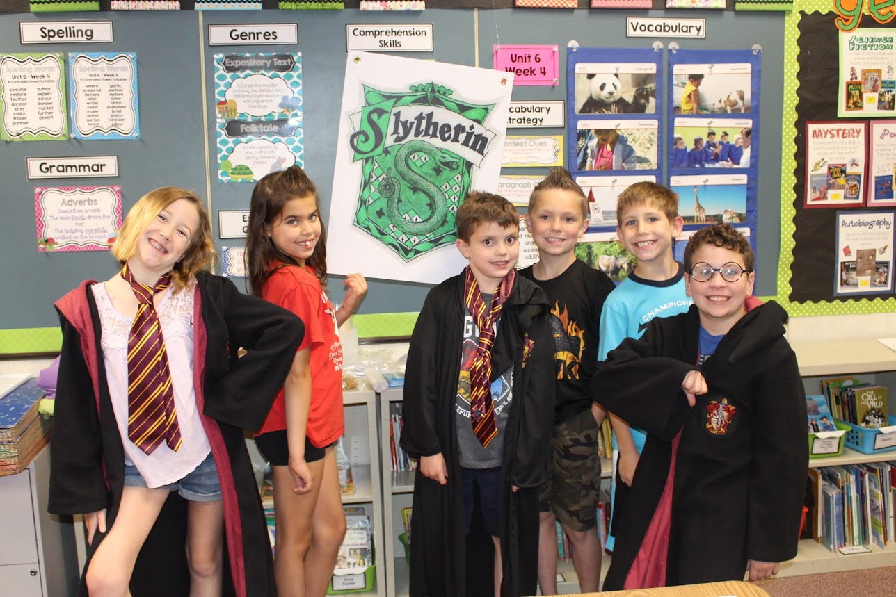 Third Graders Have Fun On Harry Potter Math Day