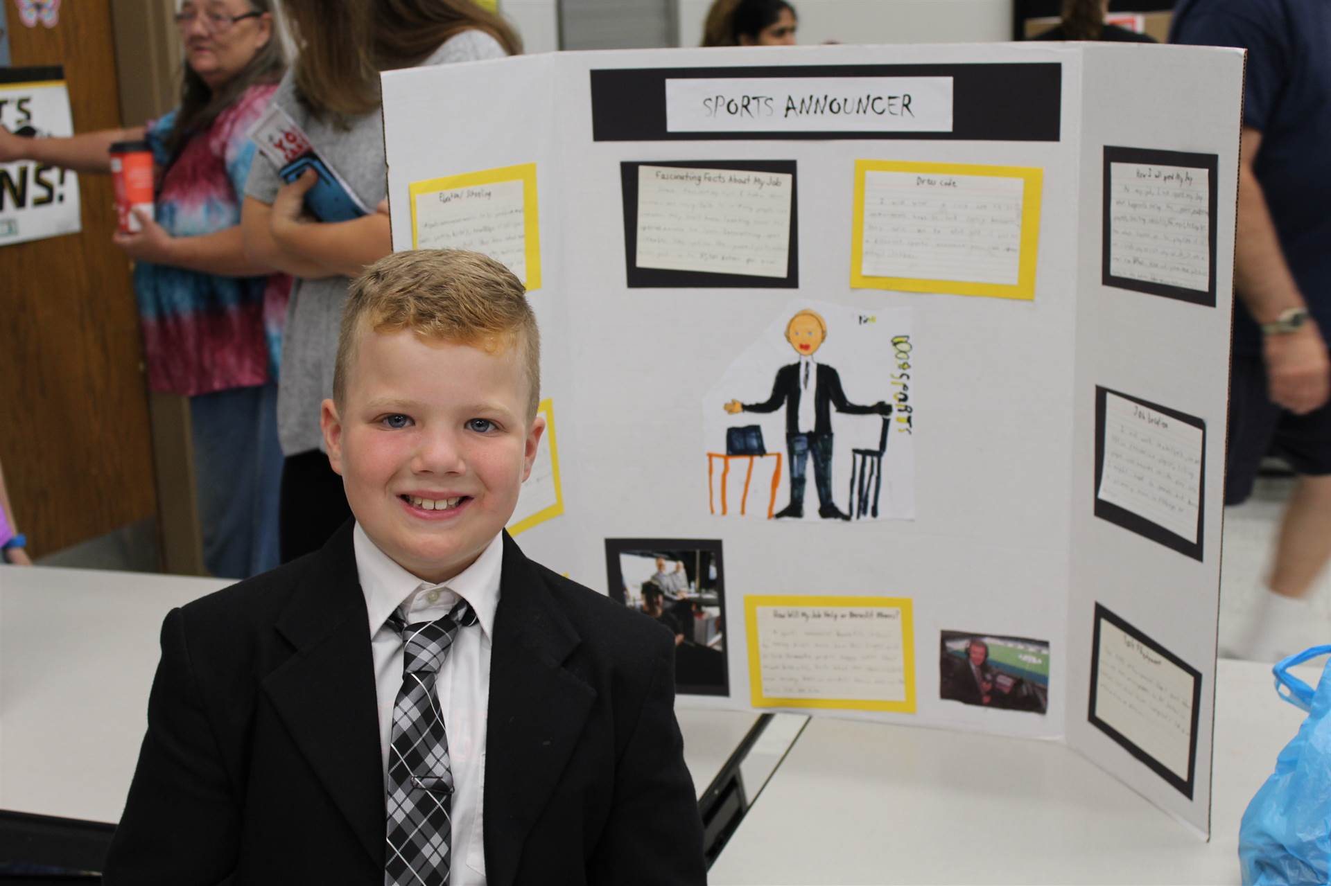 Second Graders research careers