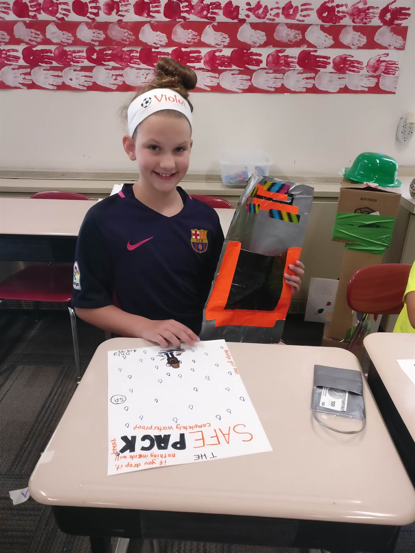 Students are able to develop 21st Century Skills through Camp Invention hands-on activities.