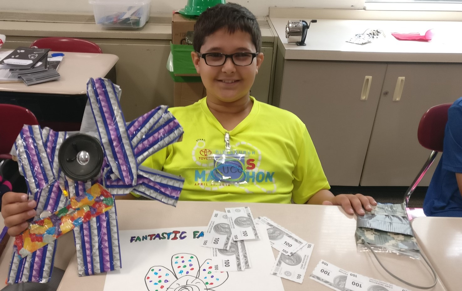 Students Have Fun At Camp Invention