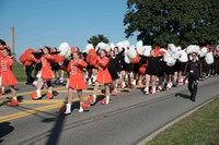 The Majorettes and Bethettes in the Community Day Parade