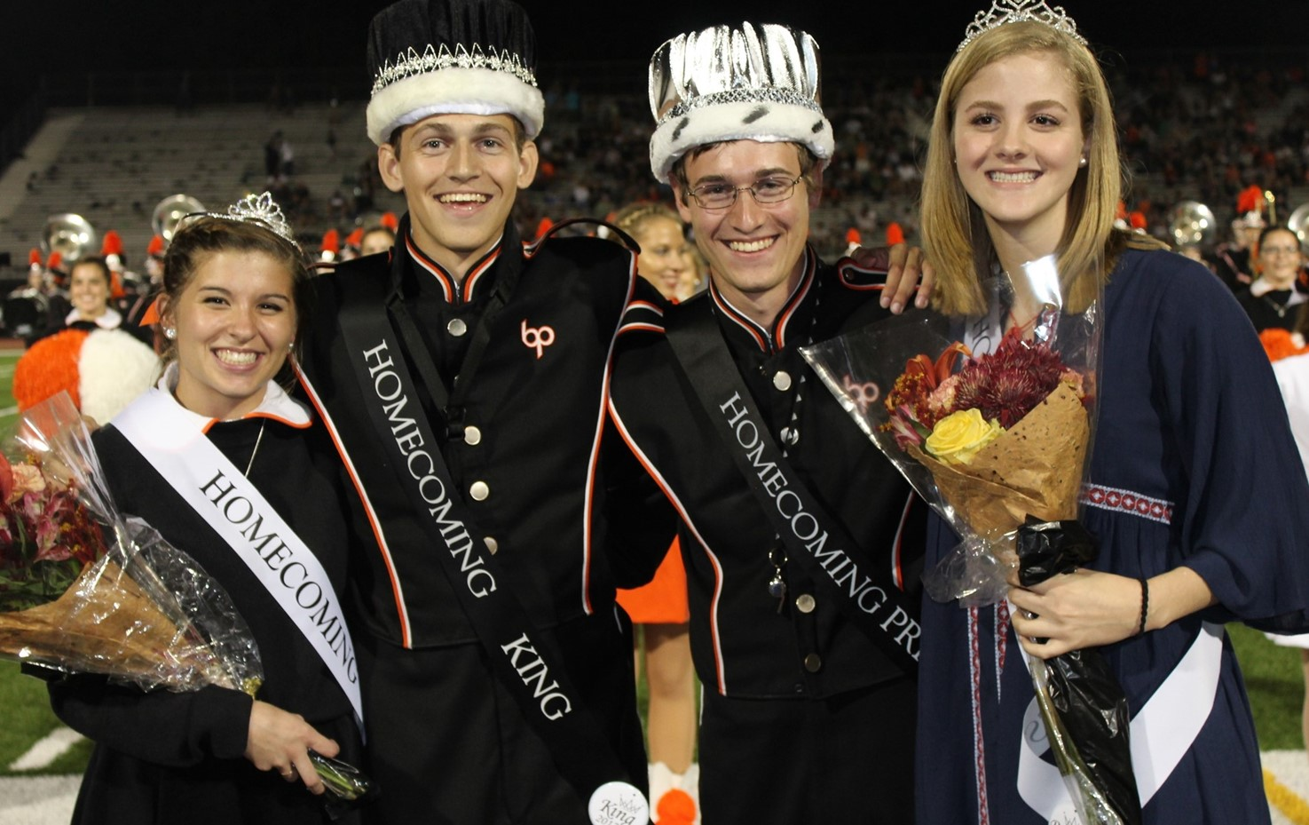 Homecoming King, Queen, Prince and Princess