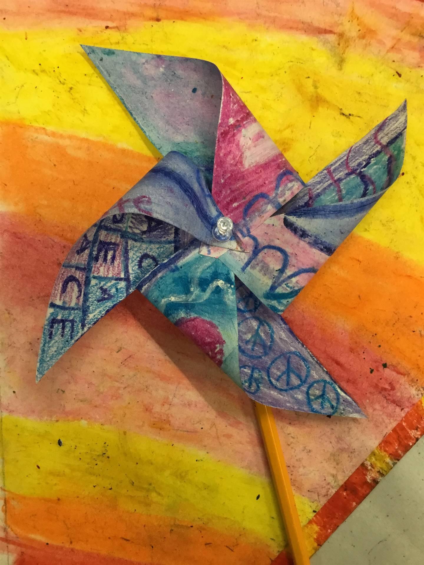 A Pinwheel for Peace