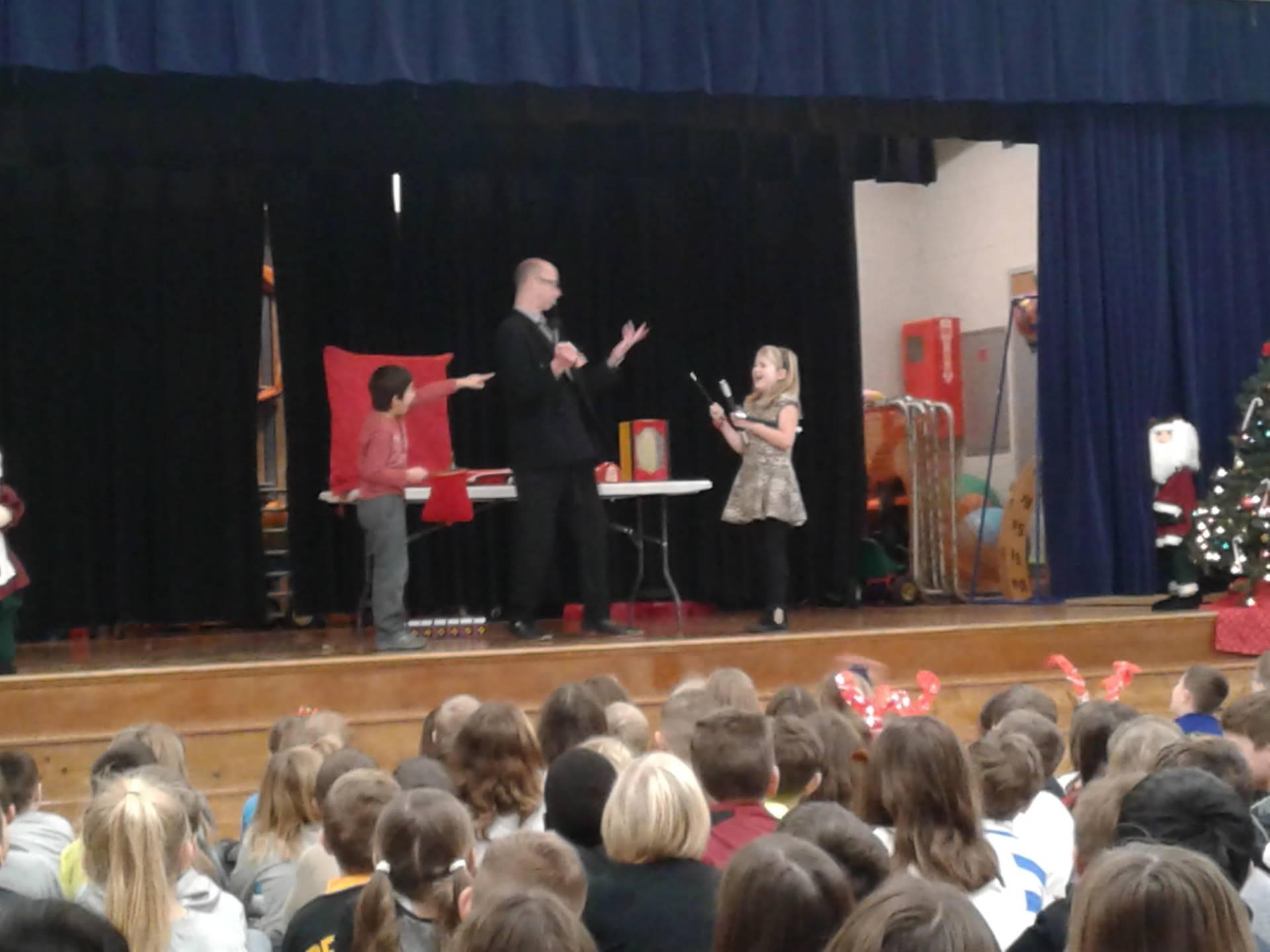 The Anti-bullying Magic assembly