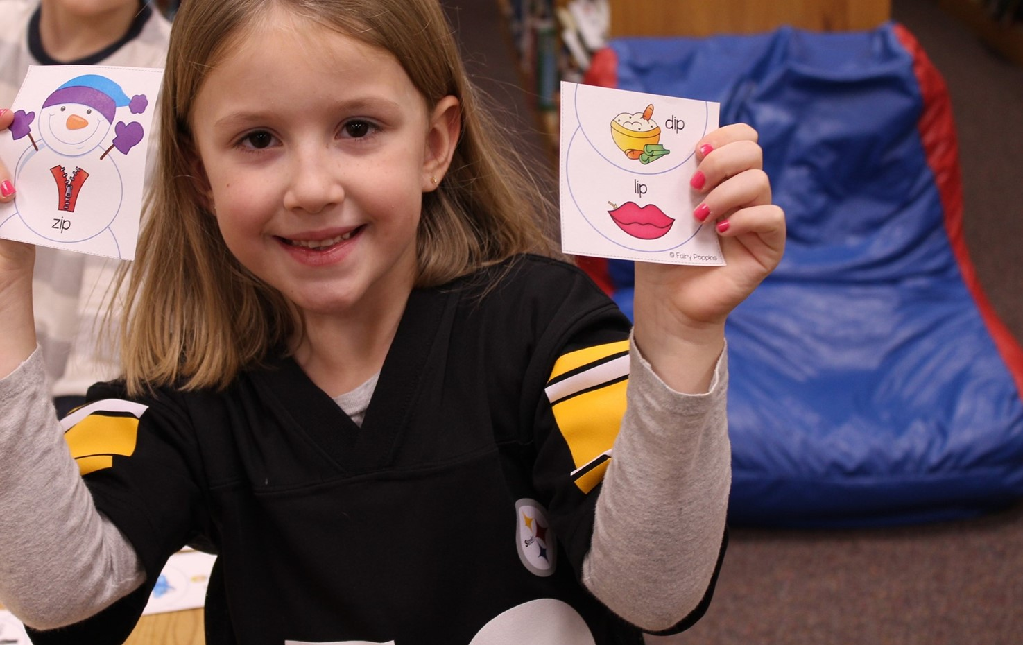 Penn Kindergarten Students Discover Rhyming Words