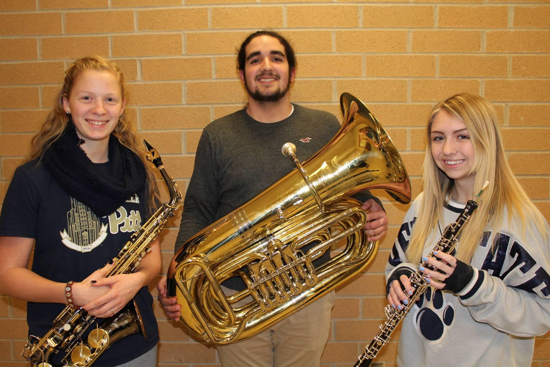 BPHS Region Band Musicians