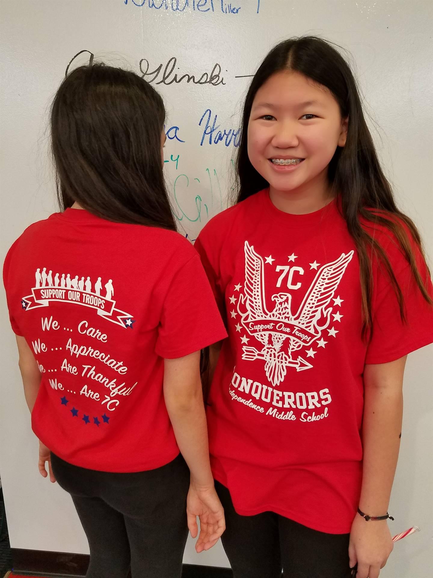 Team T-Shirt Day!