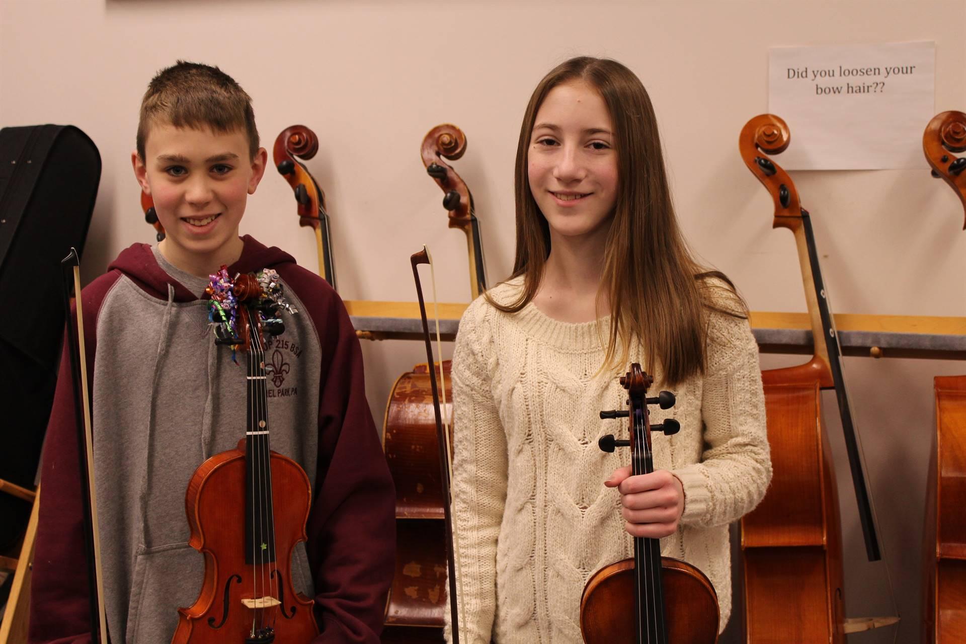 IMS Junior High District Orchestra Musicians