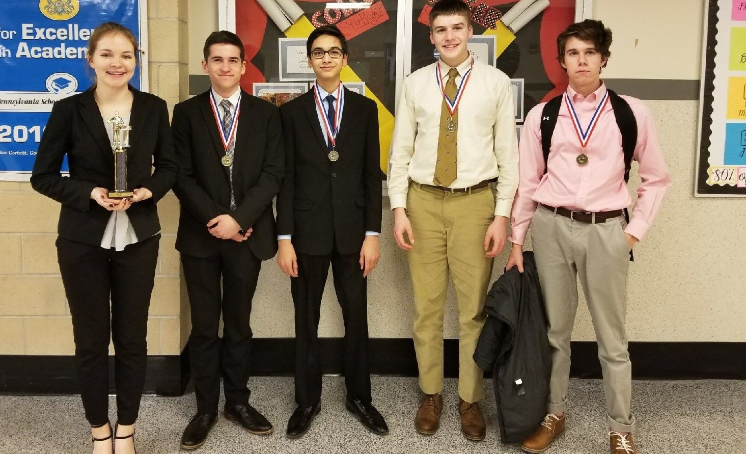 BPHS Forensics Team Winners At West Allegheny