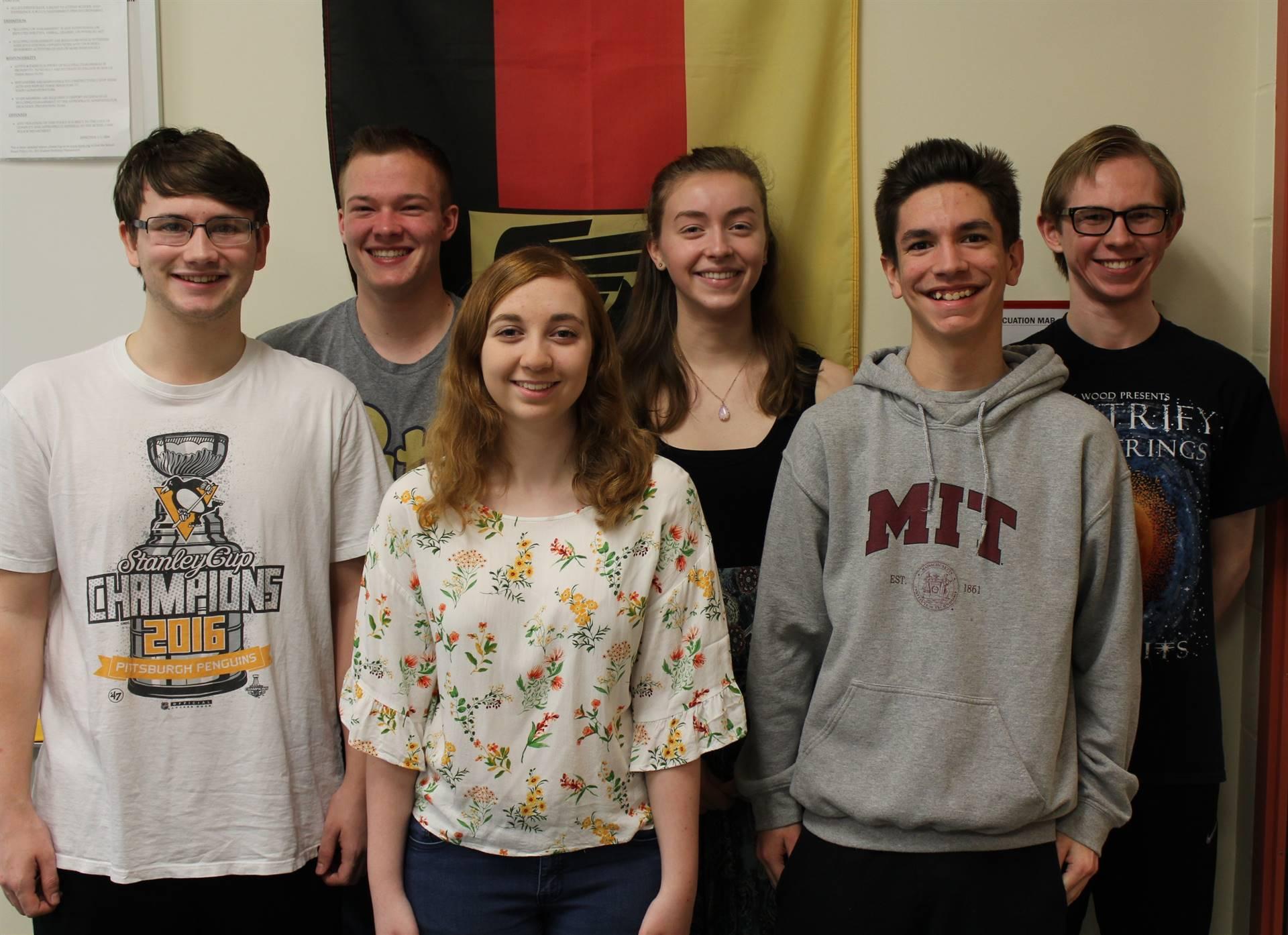 National German Exams Gold Award Winners
