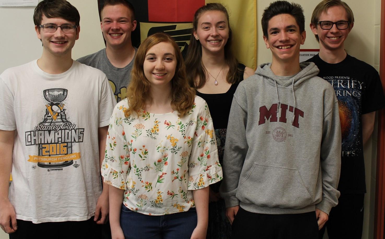BPHS National German Exam Gold Award Winners