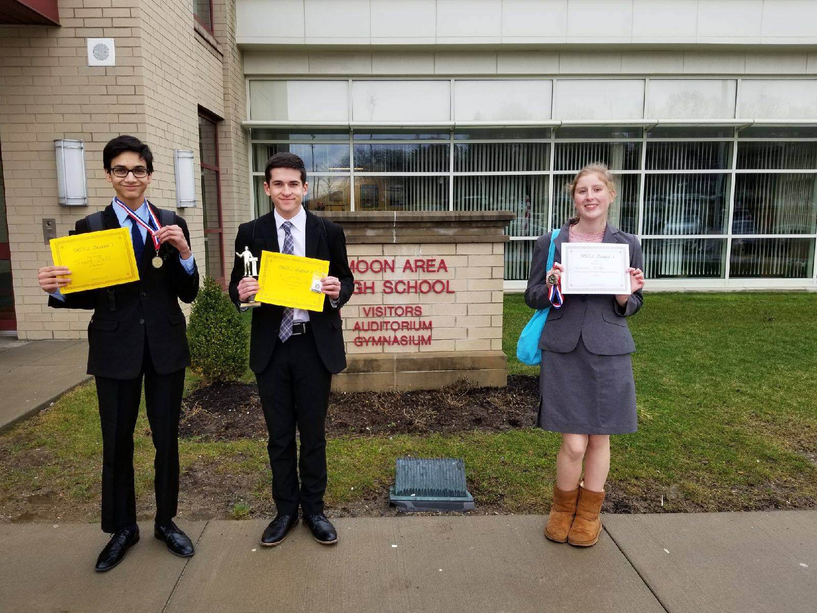 State qualifying students
