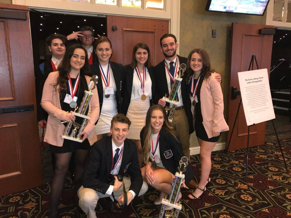 BPHS DECA First Place award winners