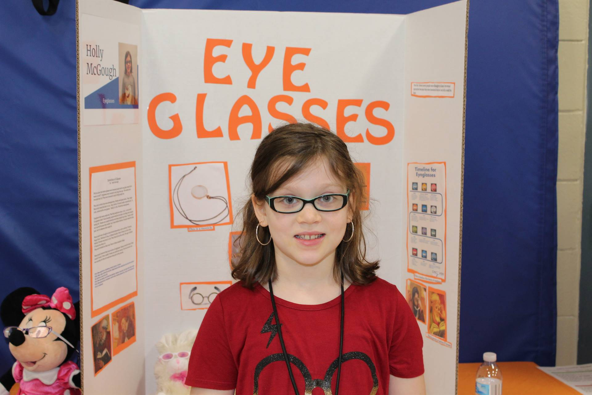 Student at the Gifted Expo
