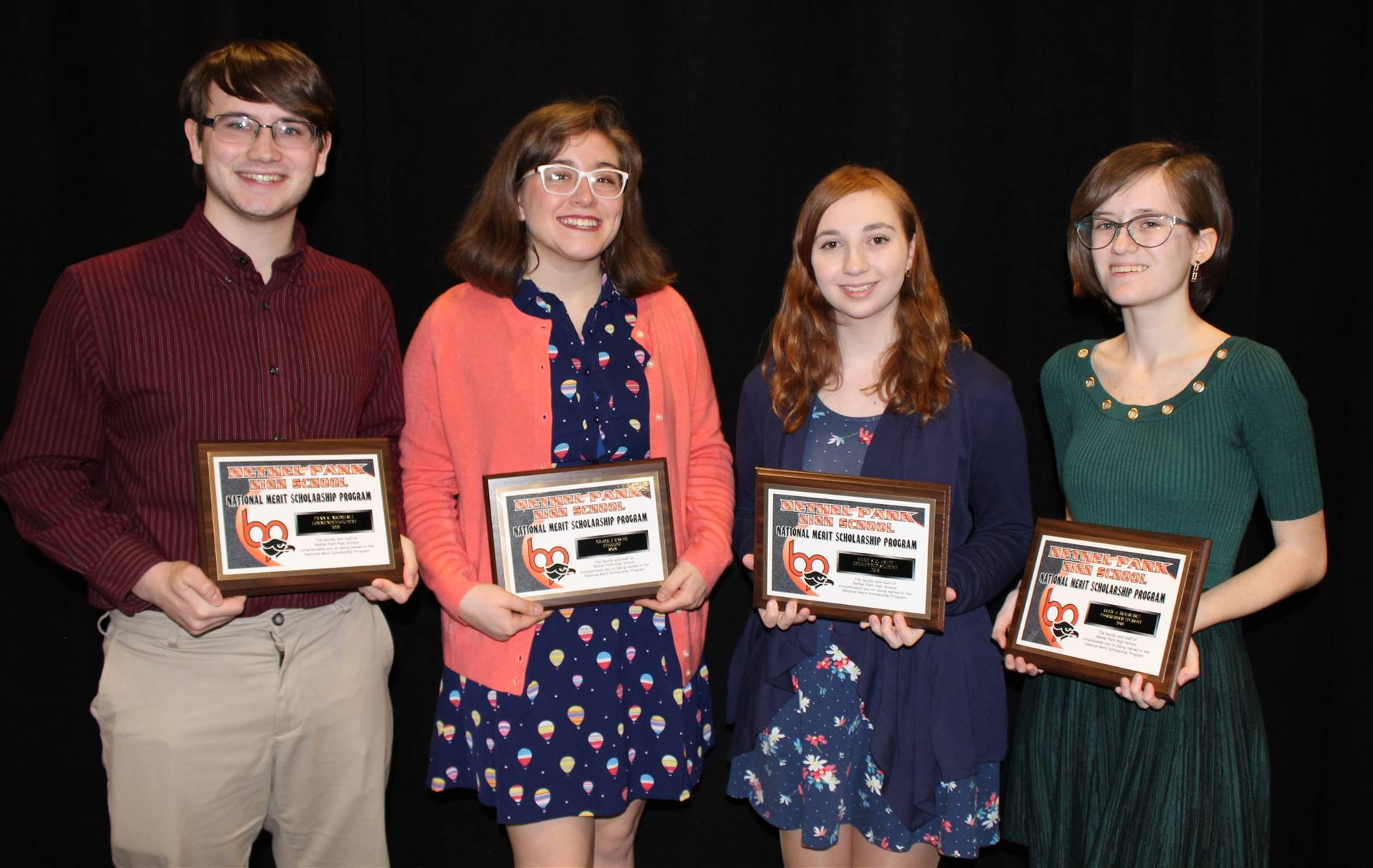 2018 BPHS National Merit Scholarship Students