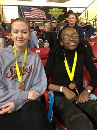 Science Olympiad Winning students