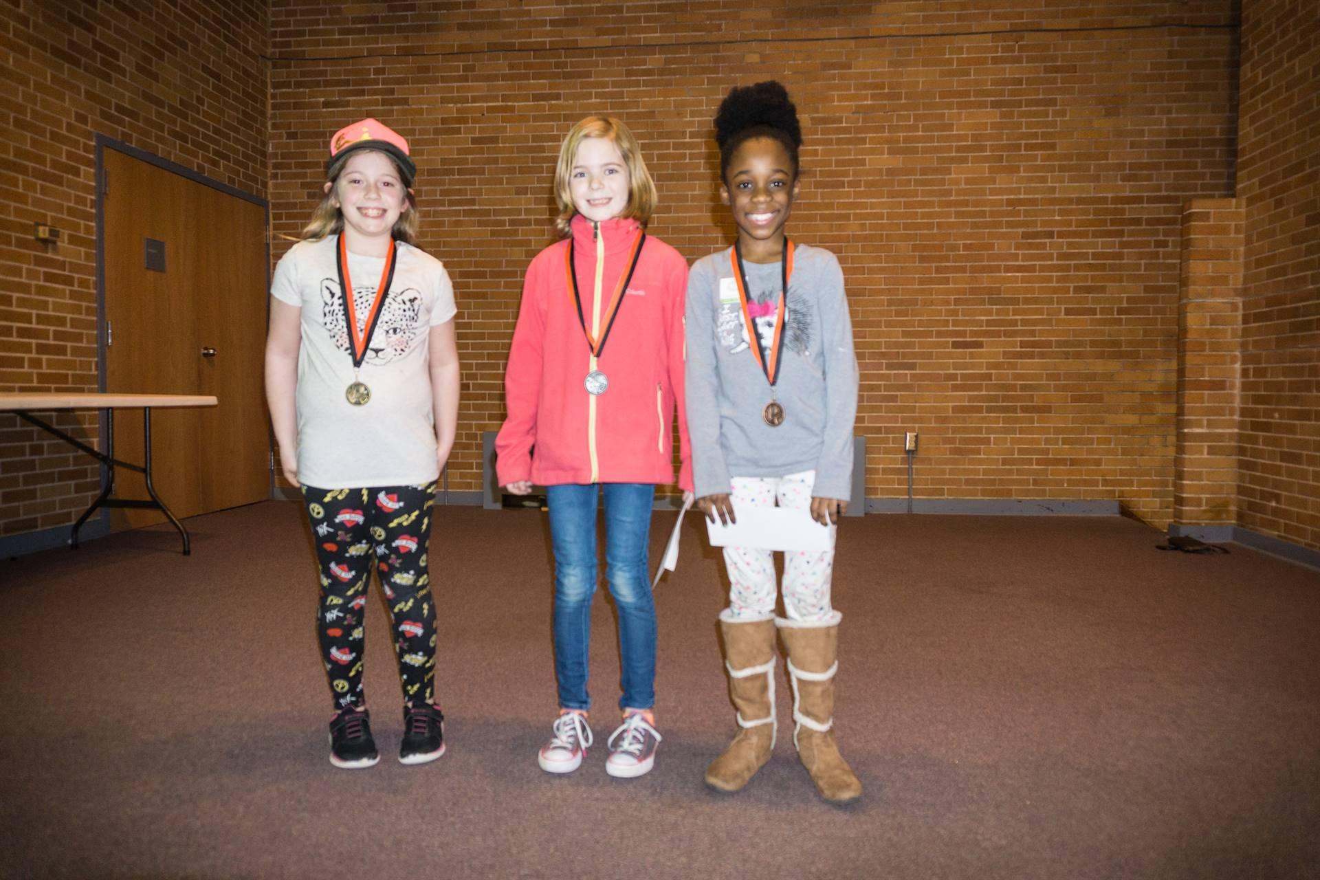 3-D Winning Students