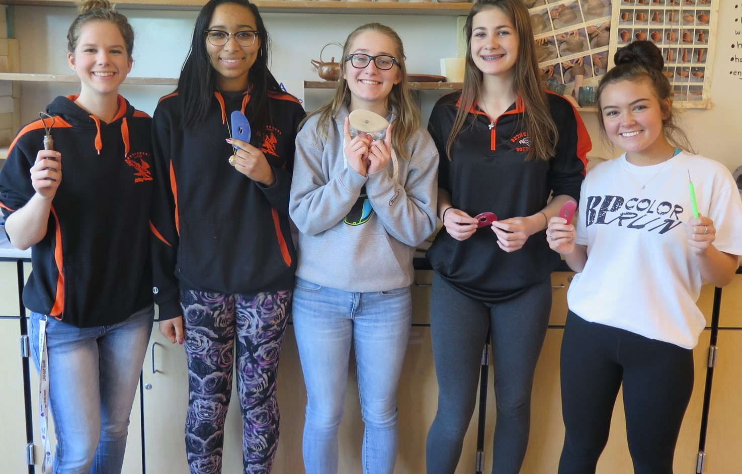 BPHS Ceramics Students Have Artwork Selected For Local Exhibit