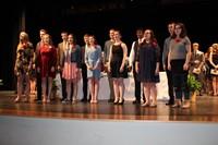 Top 21 Choir singing the National Anthem