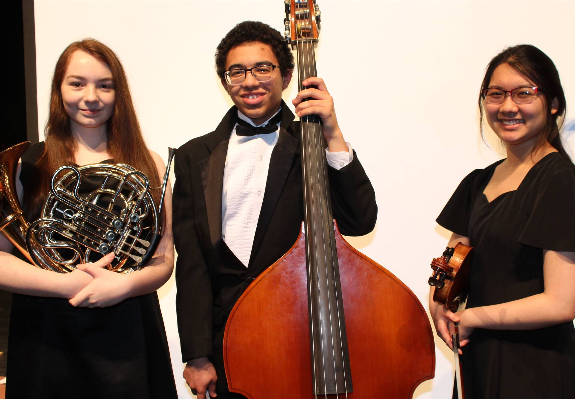 BPHS All-State Orchestra musicians