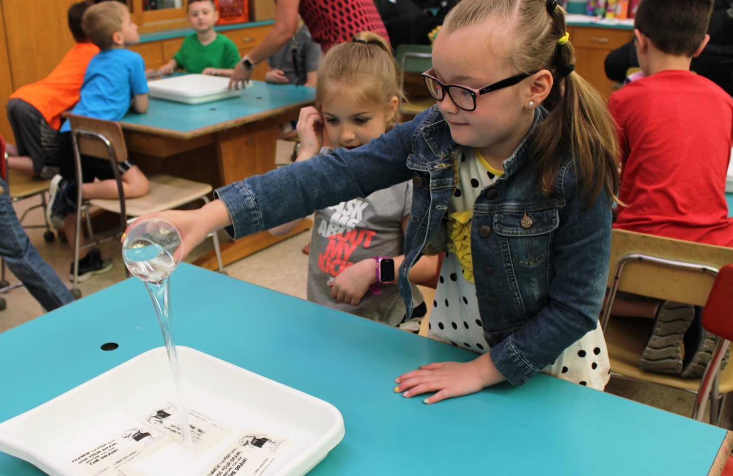 Penn Students Conduct Water Conservation Experiments