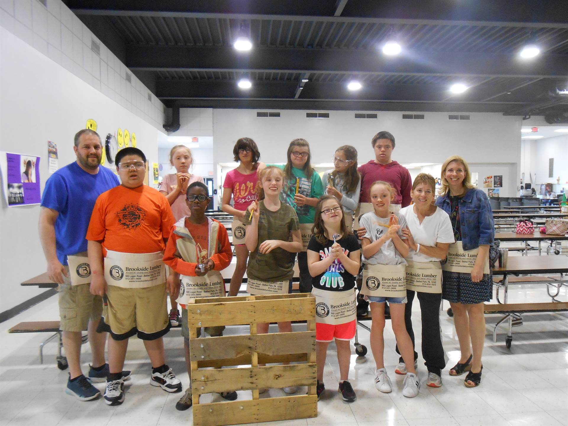 Life Skills Students Learn Carpentry