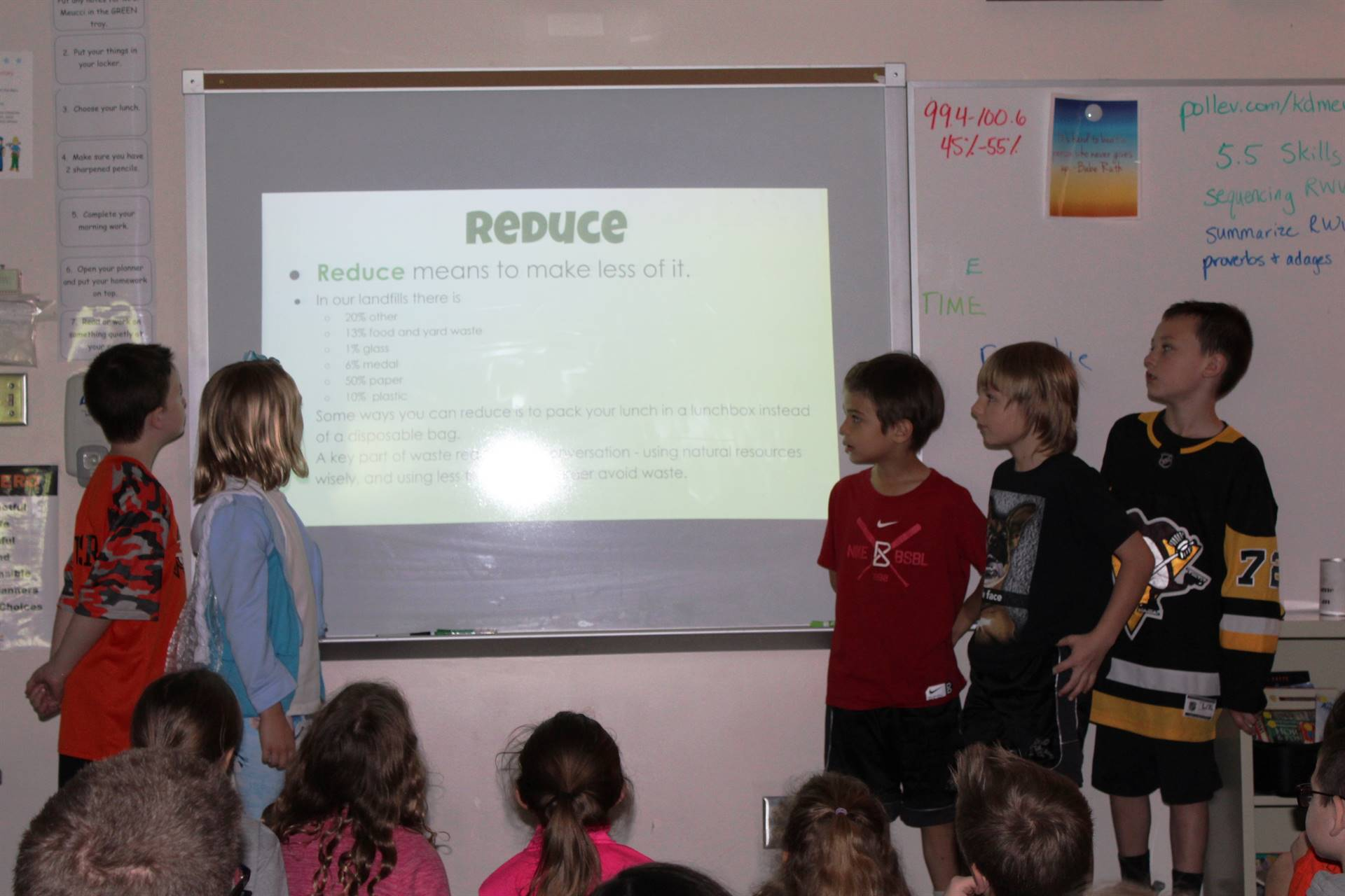Second Grade Conservation Presentations