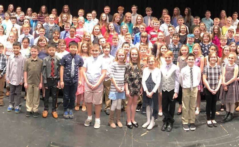 BPSD Fourth Grade Chorus