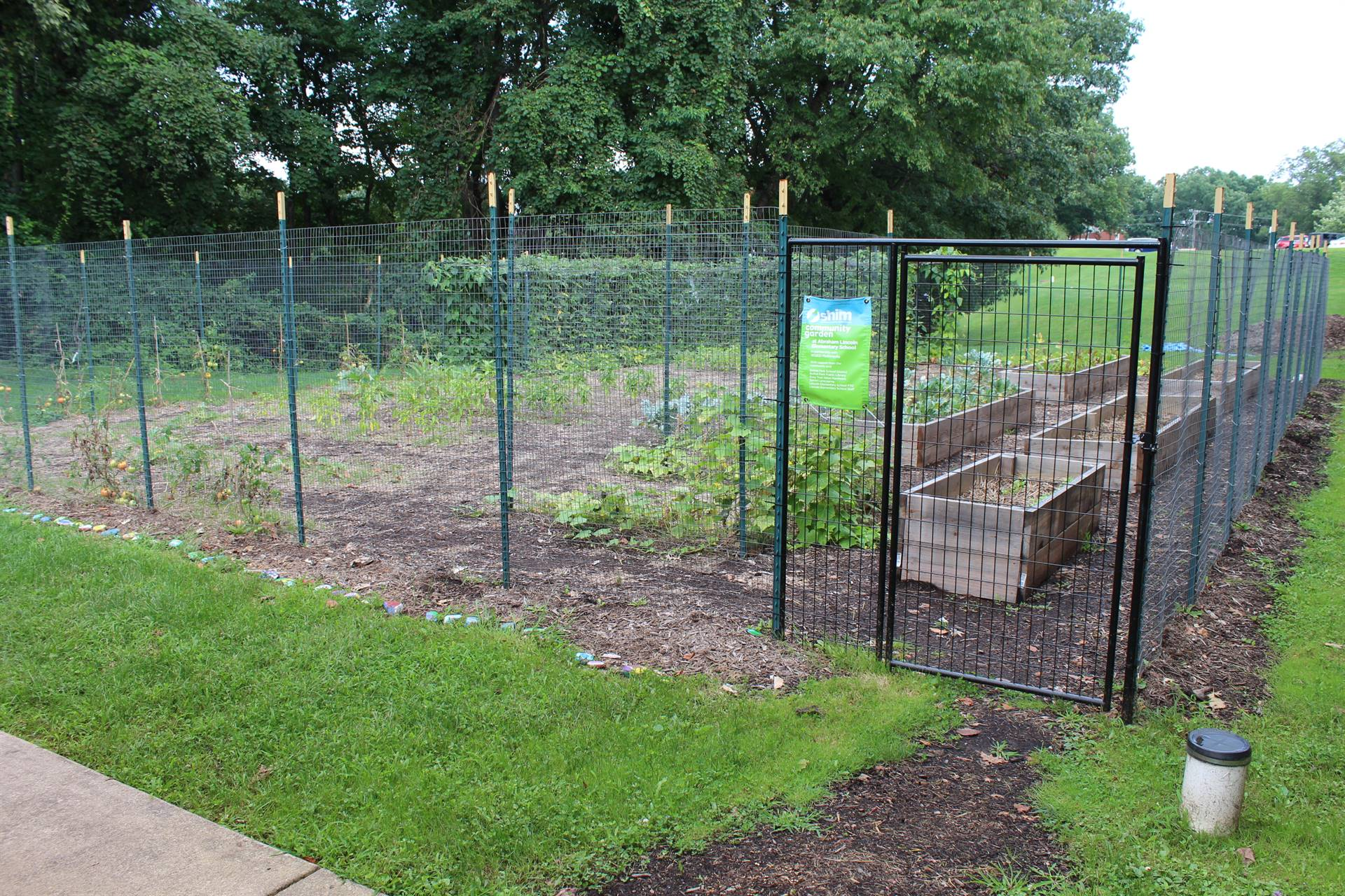 The Lincoln Community Garden