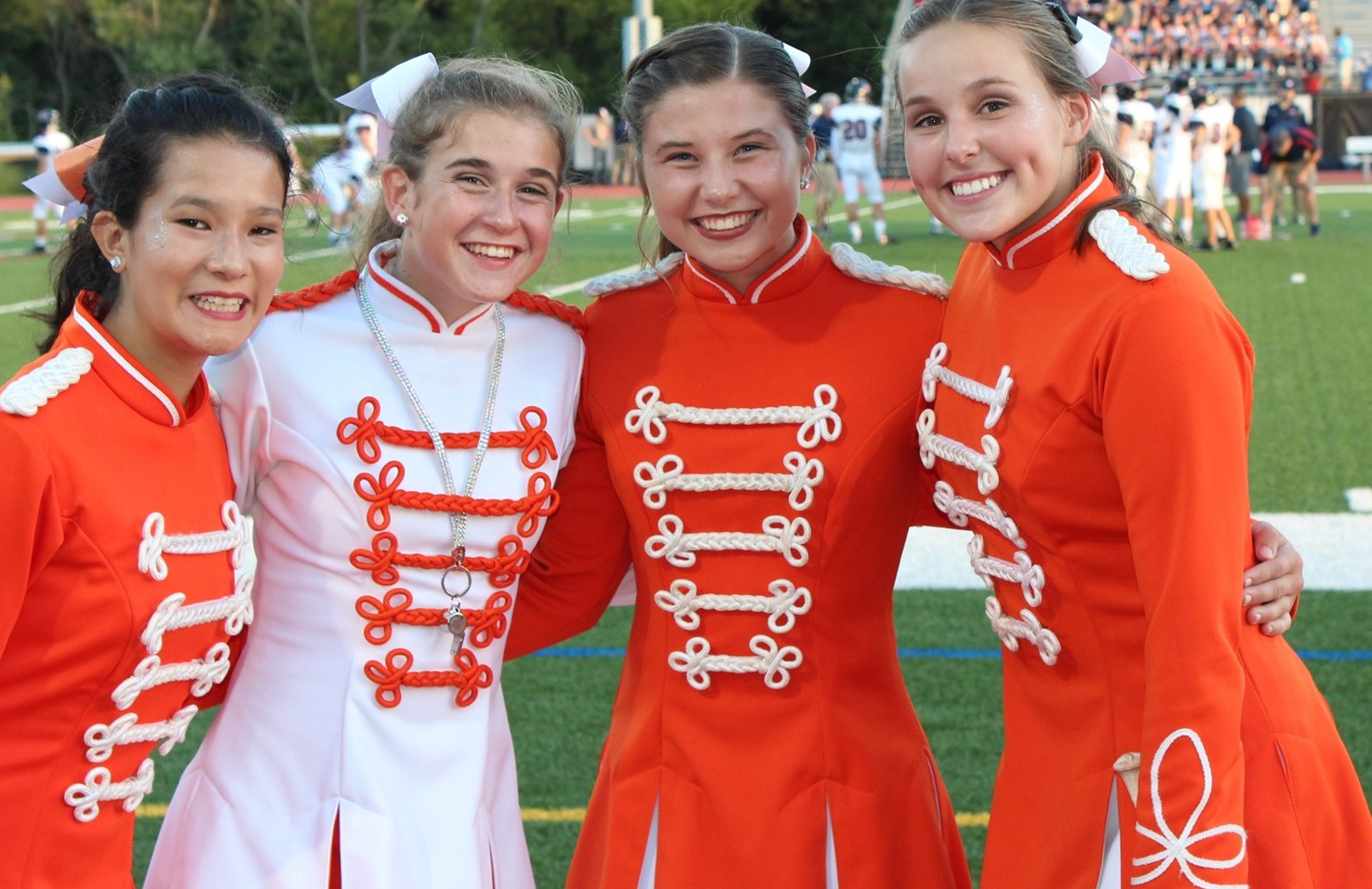 Four of the BPHS Majorettes
