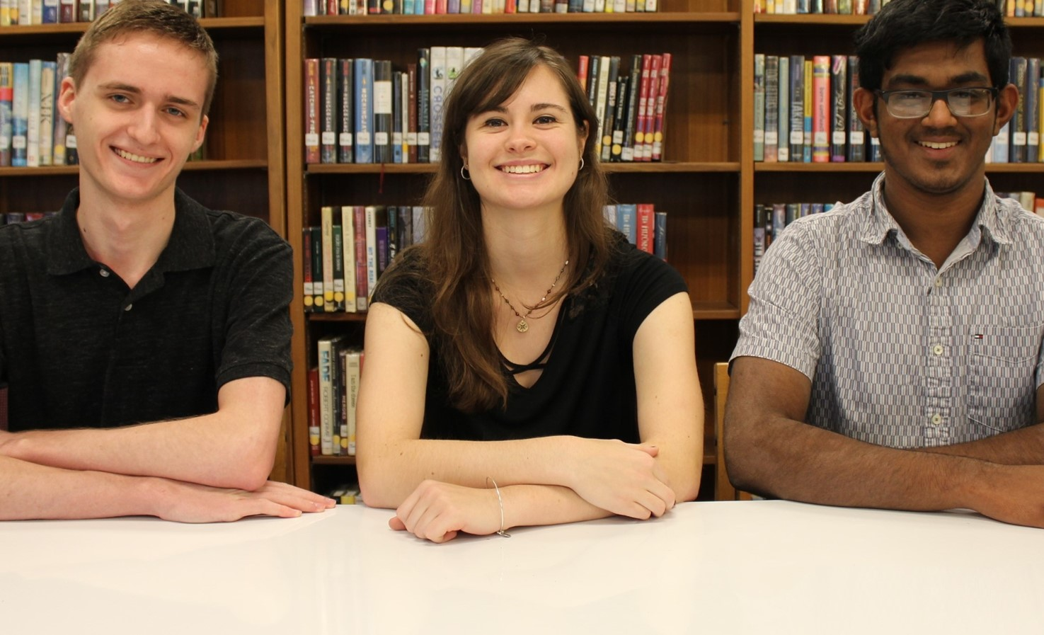 Three BPHS National Merit Scholarship Commended Students