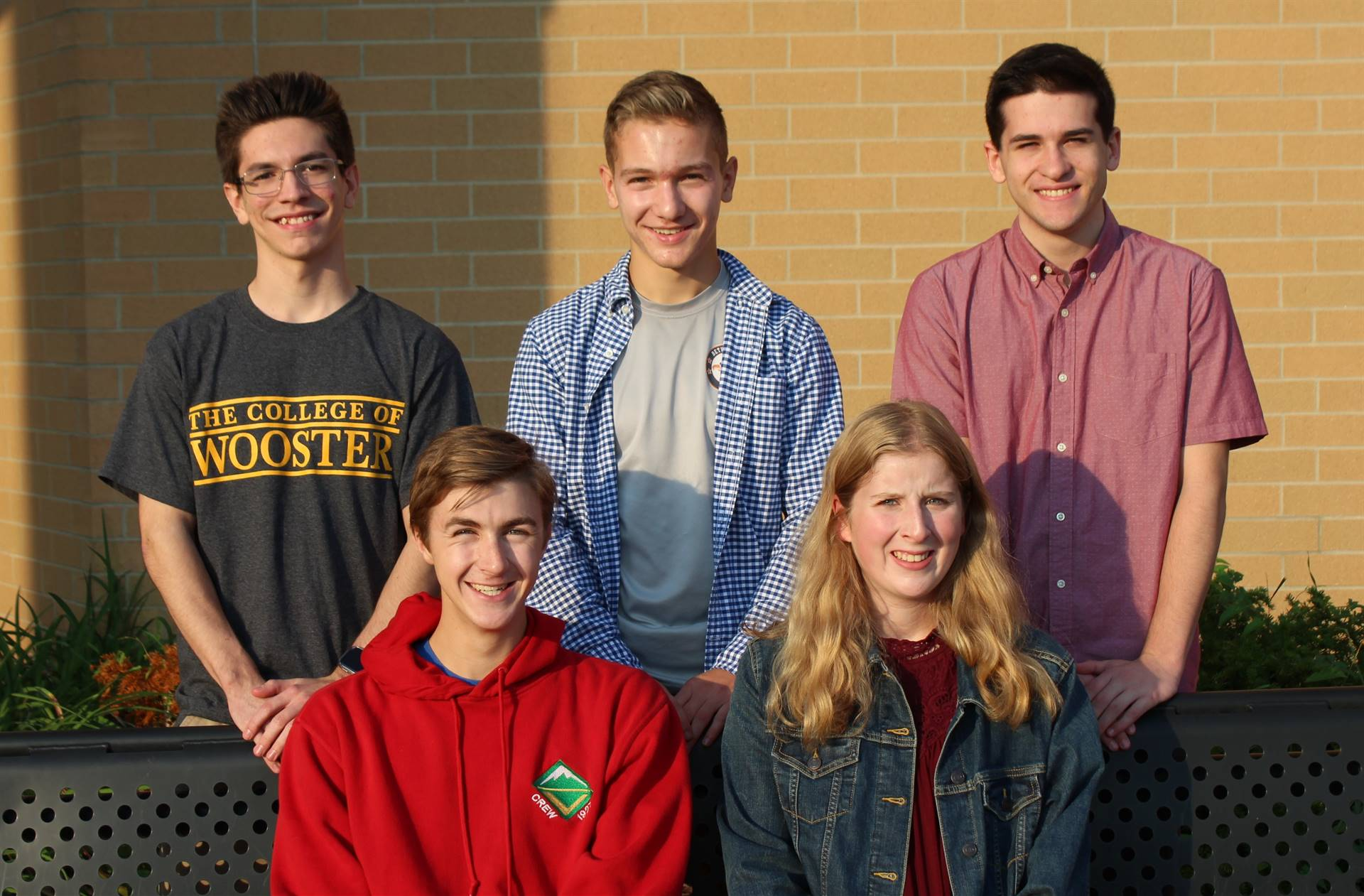 The five National Merit Commended Students