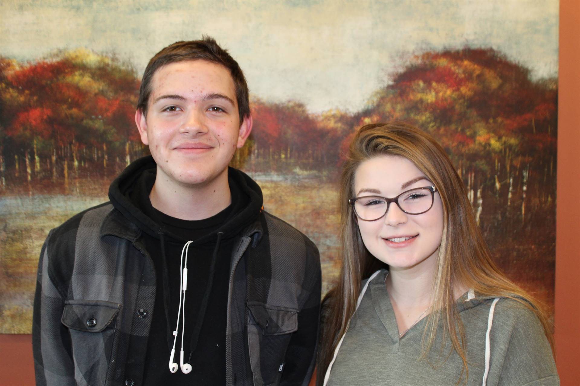 Two Steel Center Students of the Month