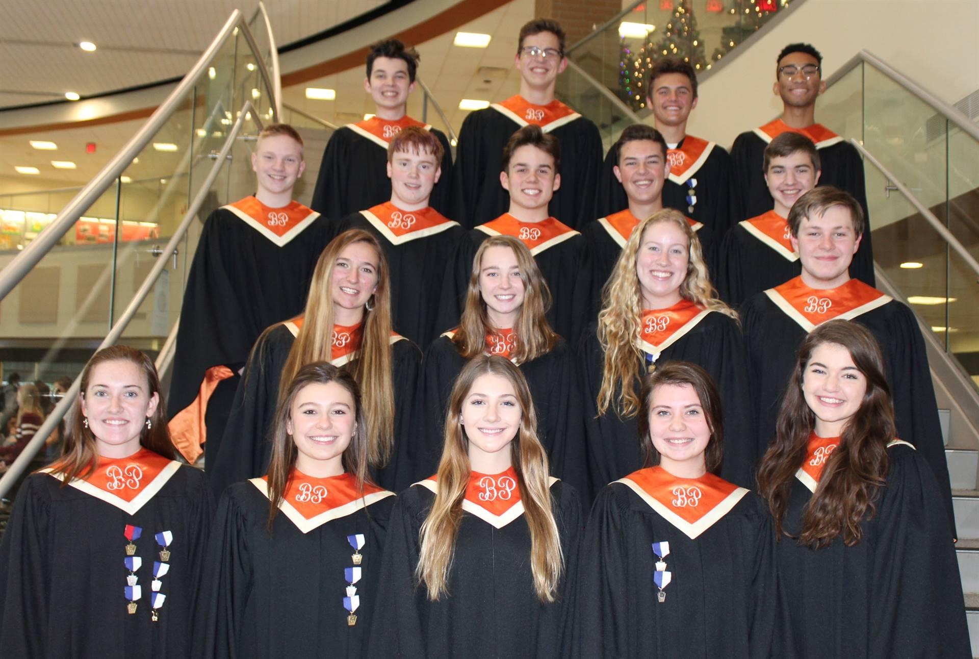 The 18 BPHS District Chorus Vocalists