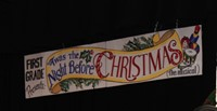 A Twas the Night Before Christmas banner